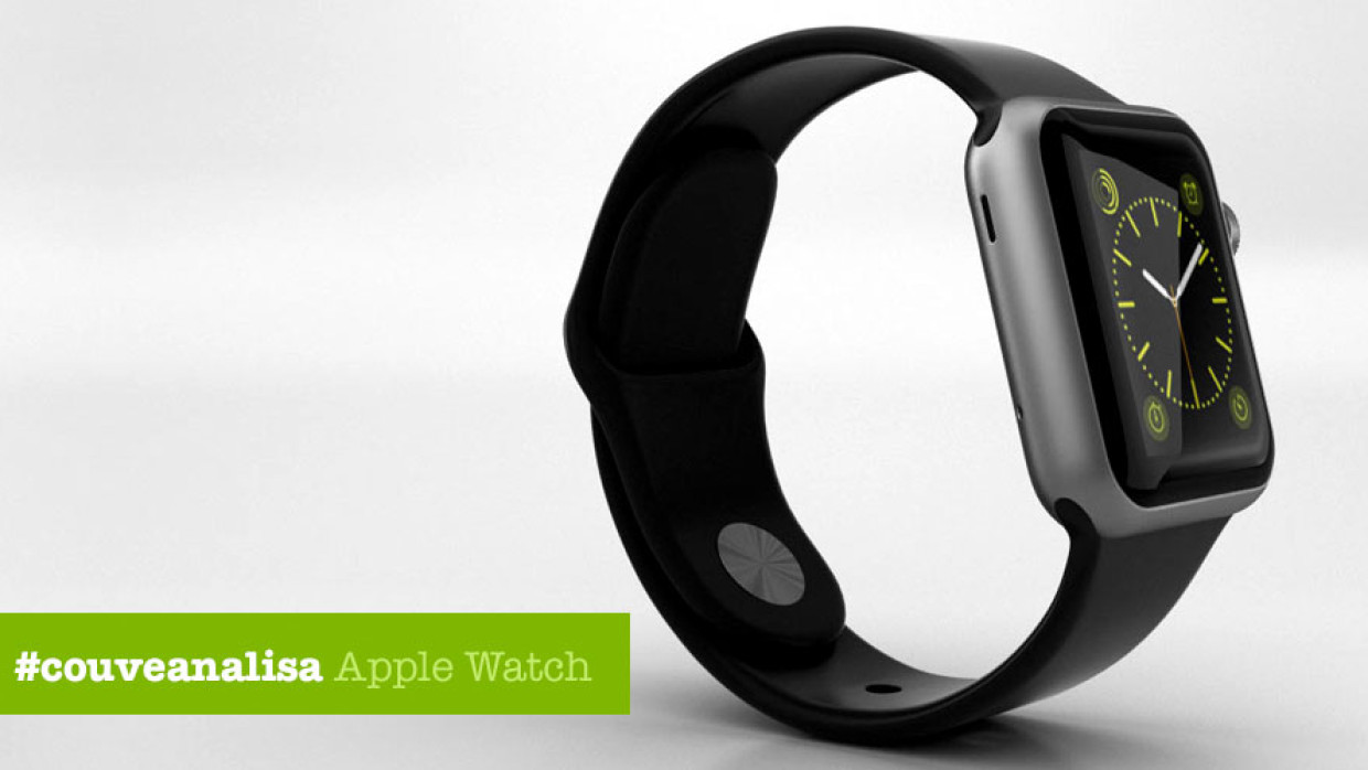 Couve pai analisa: Apple Watch