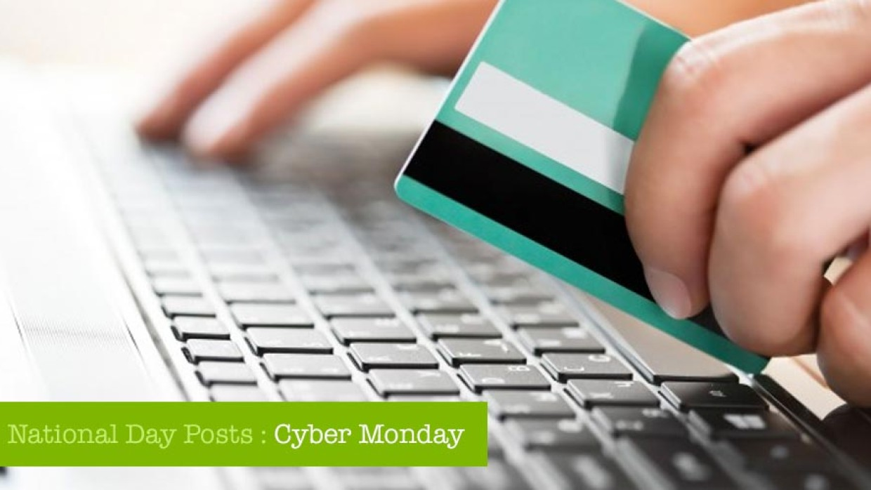 National Day Posts – Cyber Monday