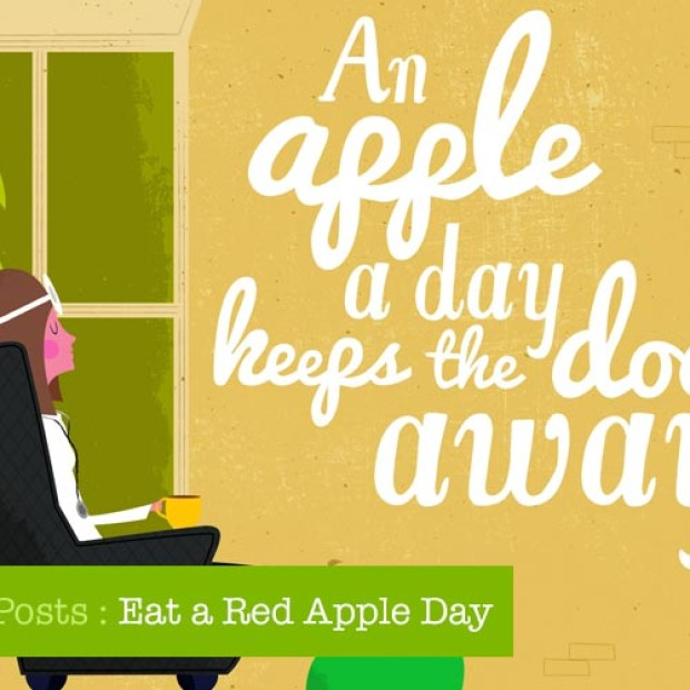 National Day Posts: Eat a Red Apple Day